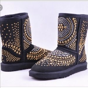 Jimmy Choo Mandan Studded UGG Boots